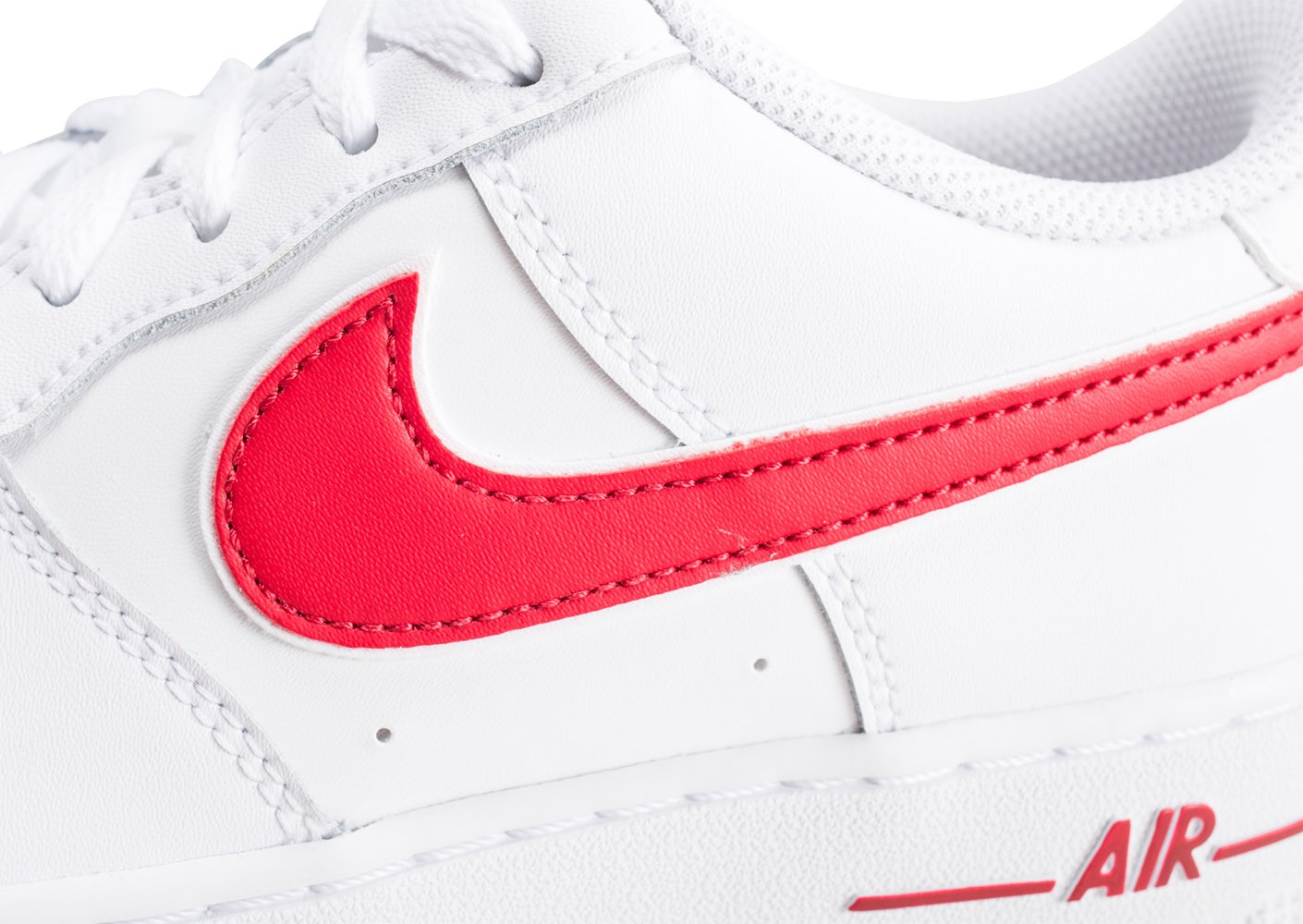 nike air force 1 junior rouge