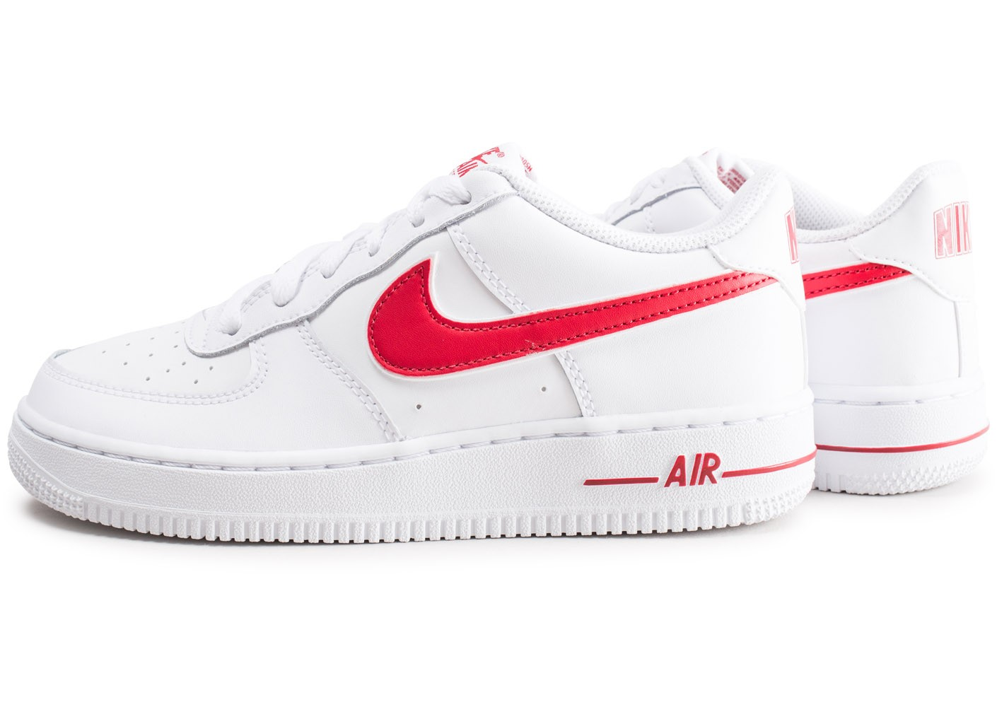air force 1 low rouge femme