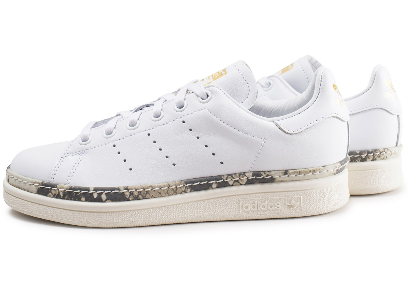 adidas stan smith new bold blanche femme chaussures. Black Bedroom Furniture Sets. Home Design Ideas