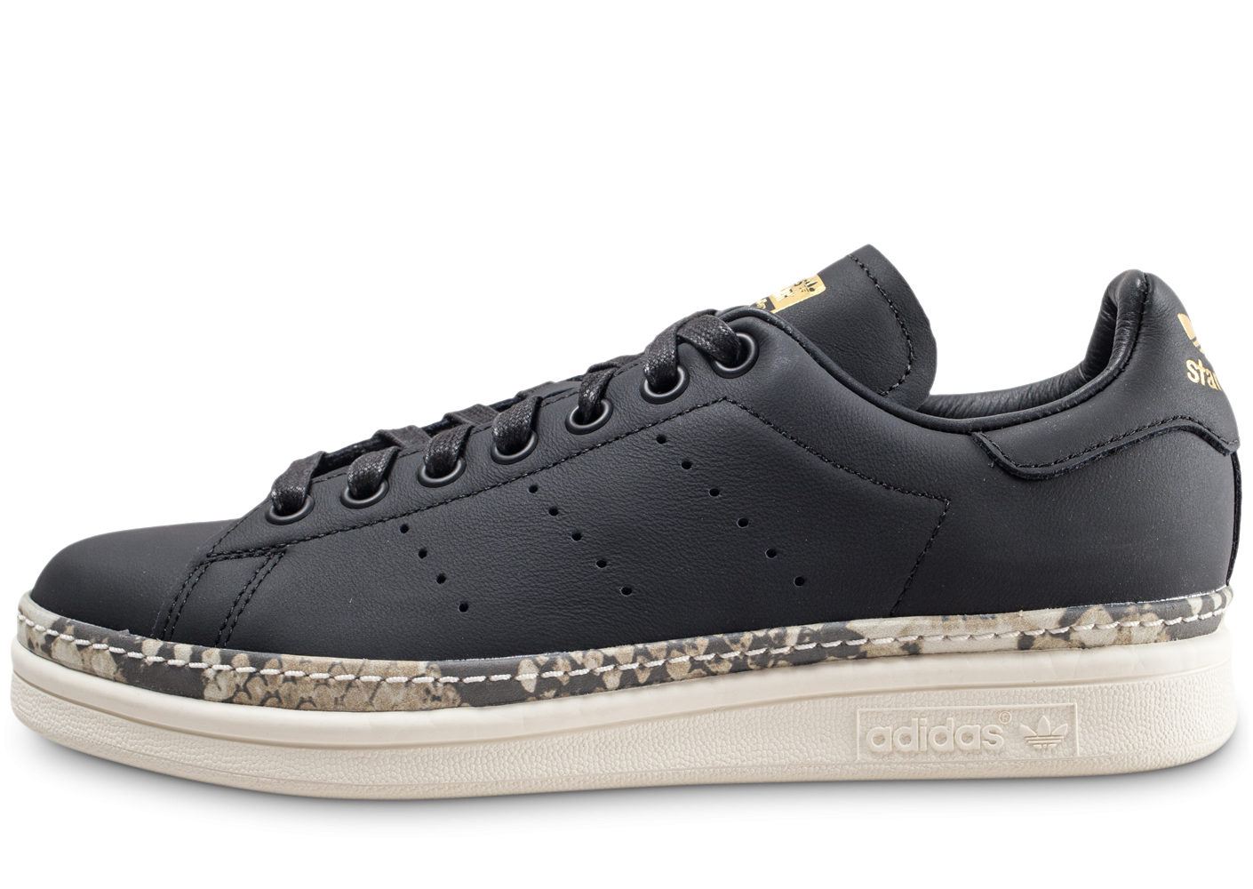 adidas Stan Smith New Bold noire femme