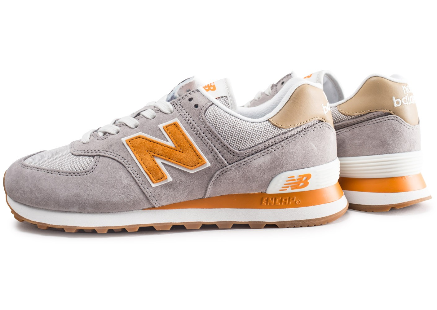 basket new balance orange