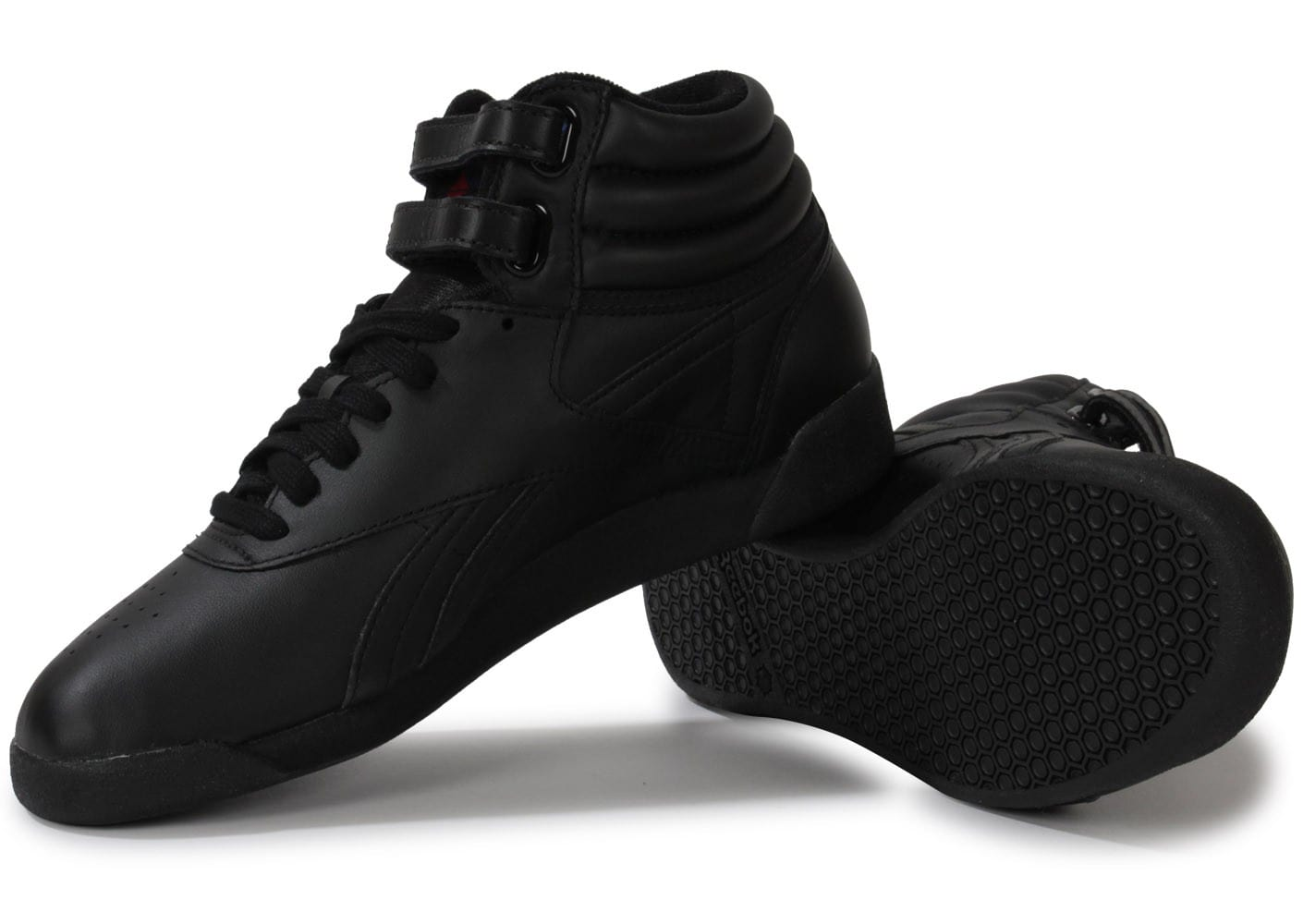 Hi Chausport Reebok Chaussures Noire Freestyle O51wq5nf