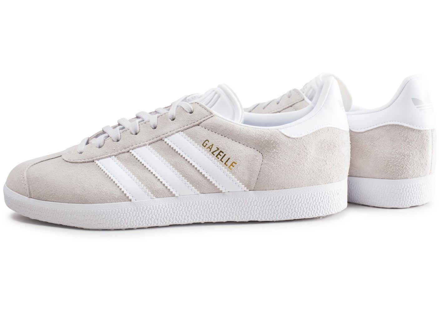sale online fantastic savings exquisite style Gris Chausport Homme Gazelle Baskets Clair Chaussures Adidas ...
