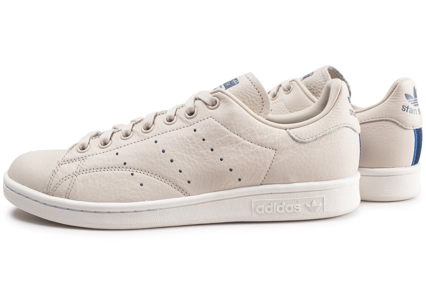 great fit many styles uk cheap sale Baskets Chaussures Stan Thqrdsc Smith Adidas Beige Homme ...