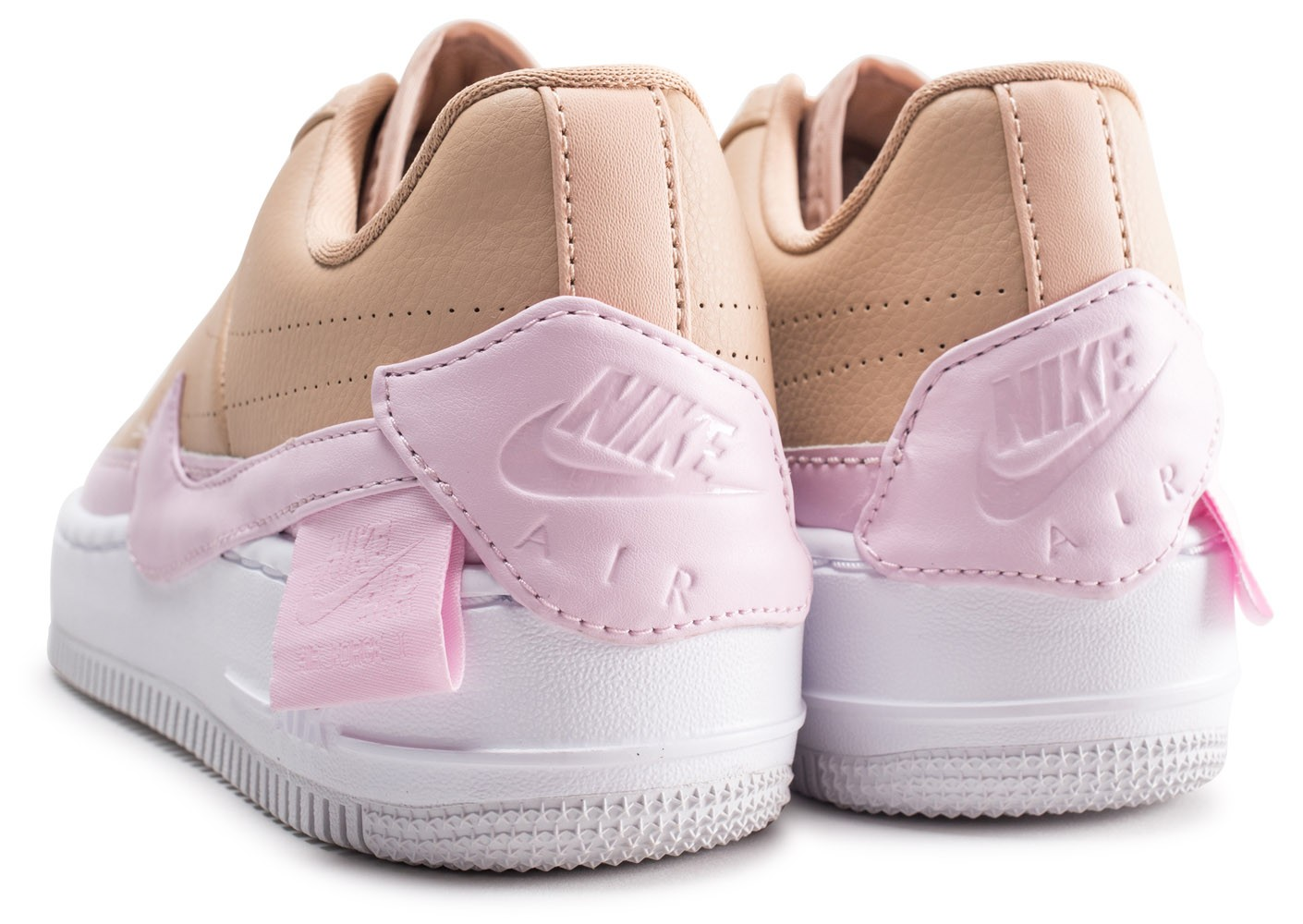 Nike Air Force 1 Jester XX beige et rose femme Chaussures
