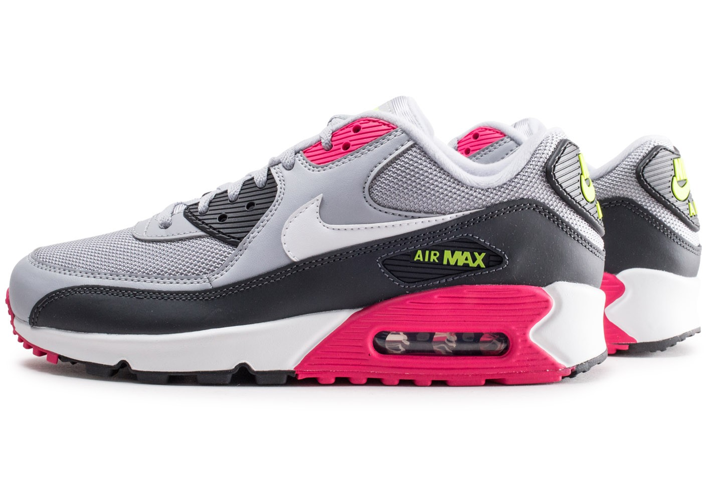 nike air max 90 rose et grisfemme