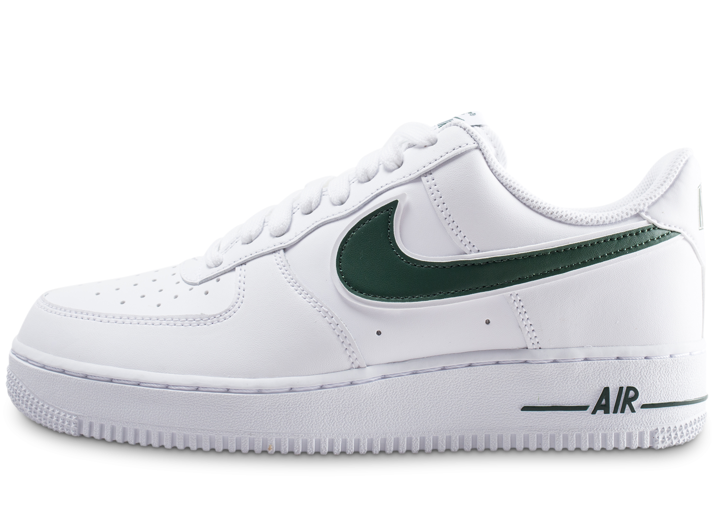 Nike Air Force 1 '07 blanche et verte