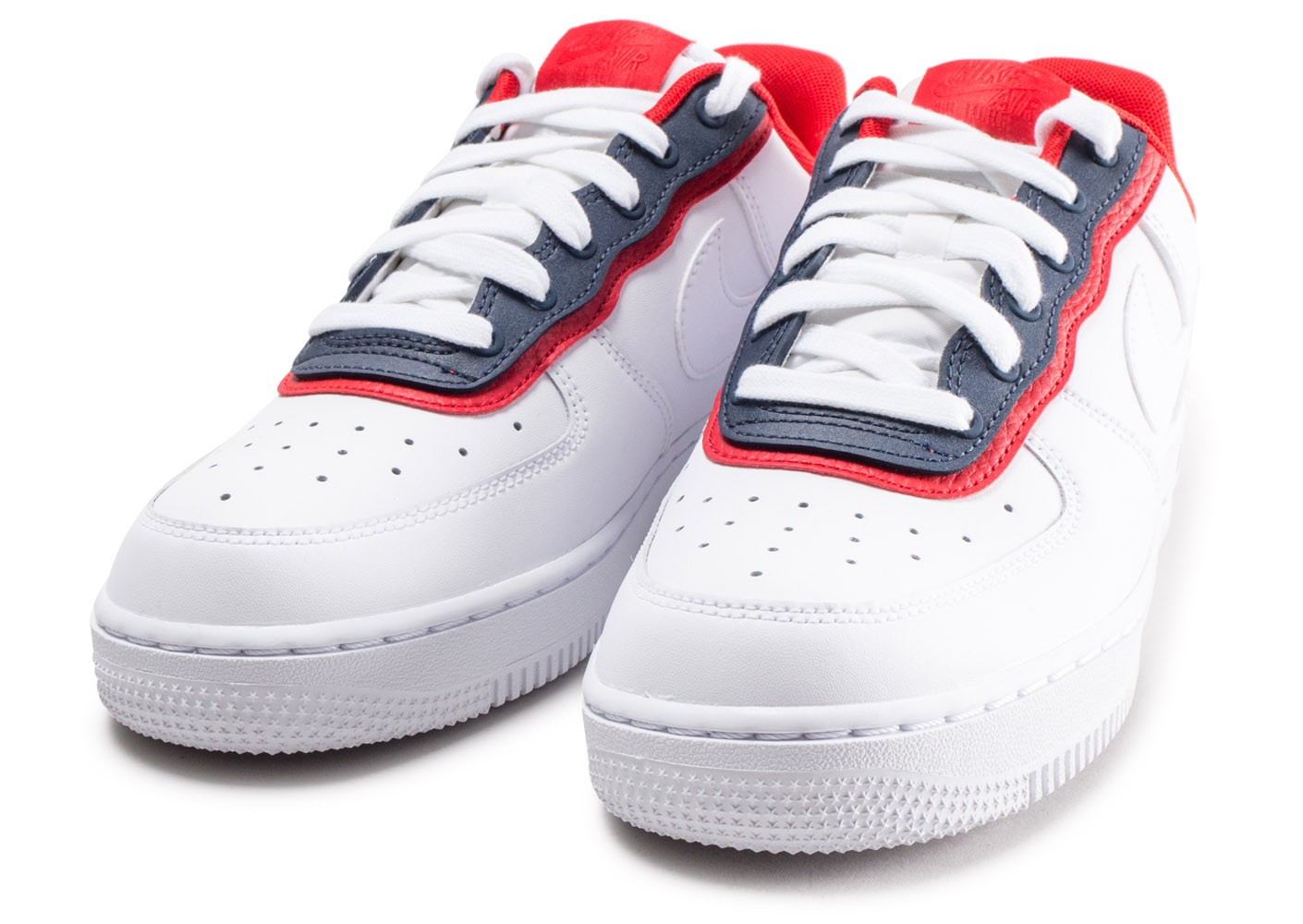 nike air force 1 bleu blanc rouge