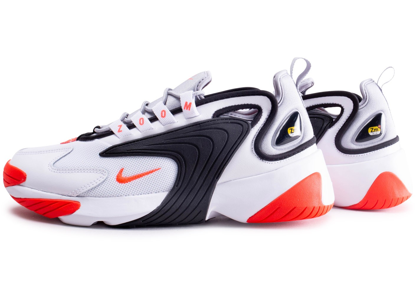 Nike Zoom 2K blanc rouge - Chaussures Baskets homme - Chausport