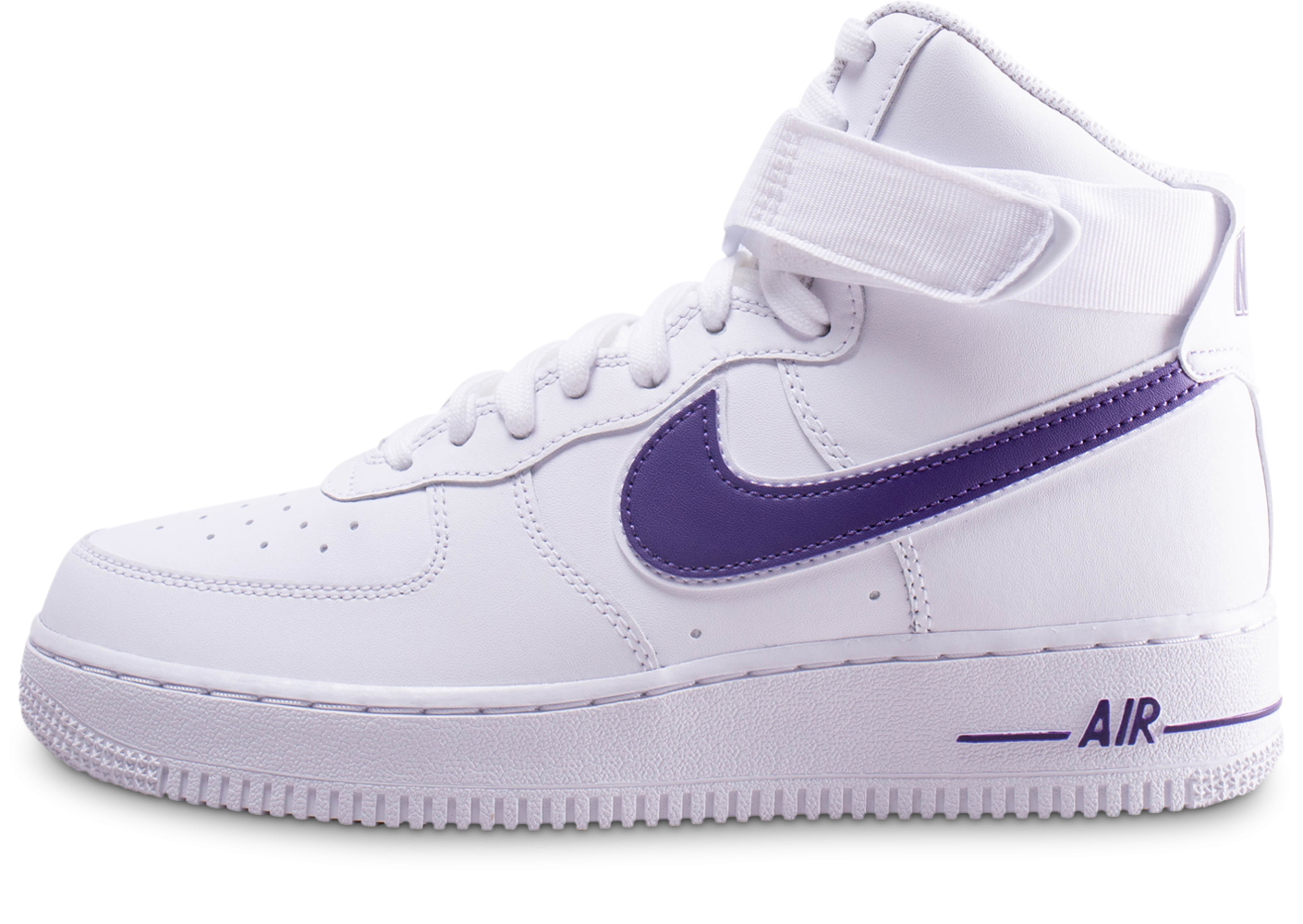 Nike Air Force 1 High Court Purple - Chaussures Baskets homme ...