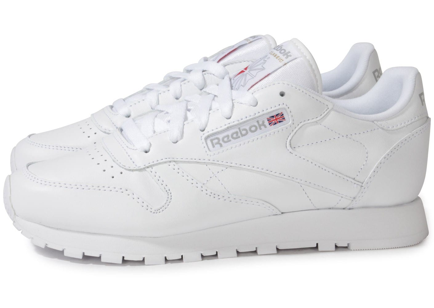 Reebok Classic Leather Blanche Chaussures Chaussures