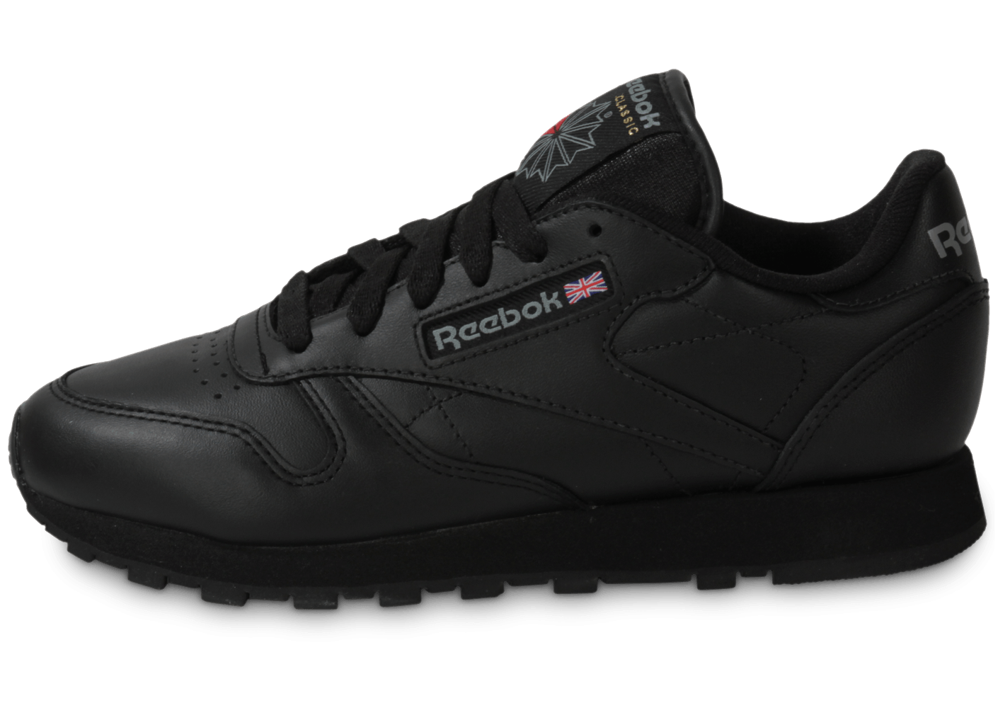 Chaussures Reebok Classic Leather noires Casual homme So3vW