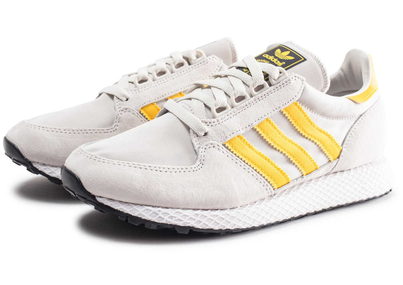 Chaussures Chausport Gris Homme Adidas Forest Grove Et Or Baskets 354ARjLq
