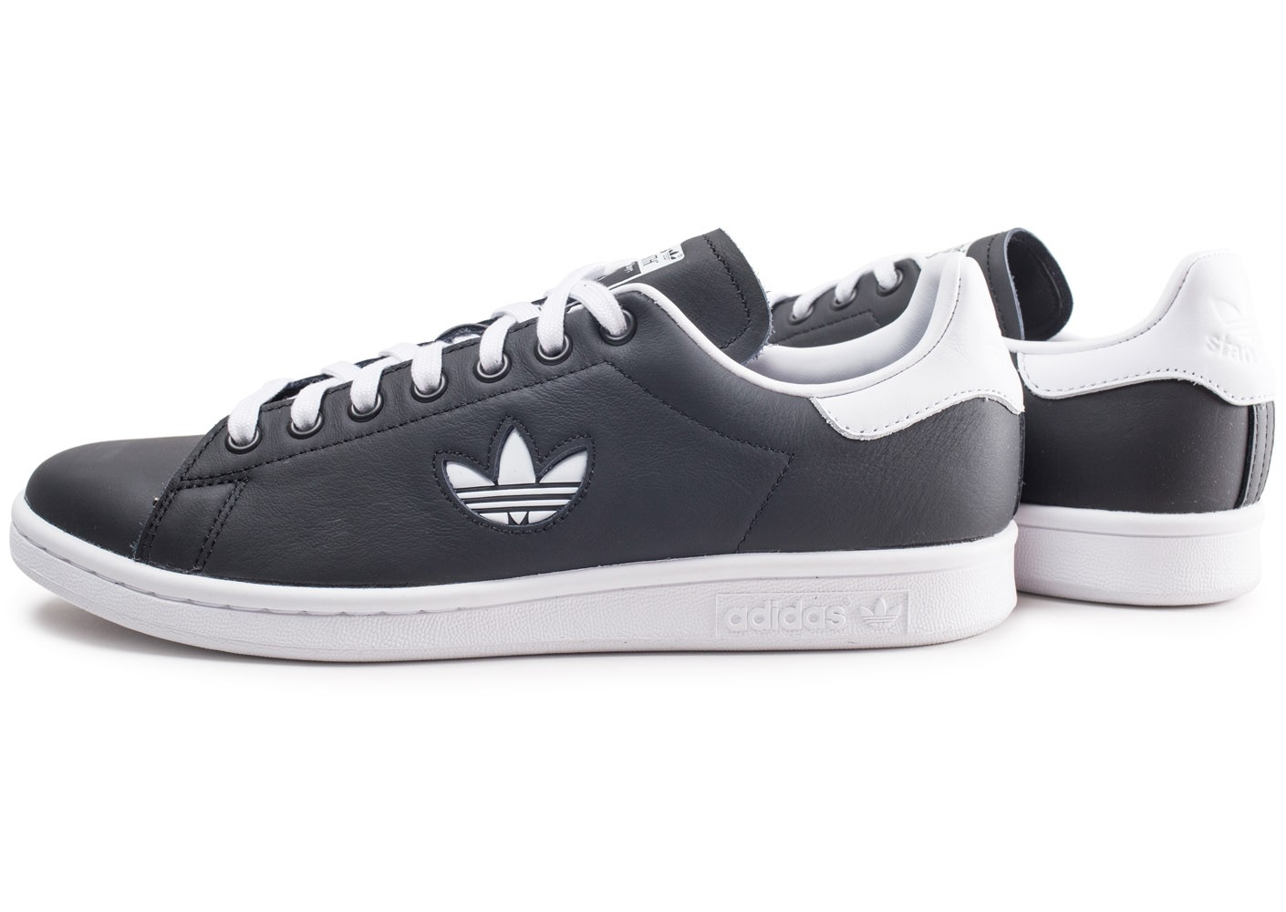 adidas Stan Smith noire et blanche Chaussures Baskets