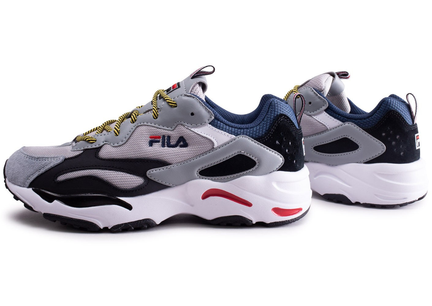 Tracer Chaussures Chausport Fila Homme Baskets Ray Gris Y7Ivby6fg