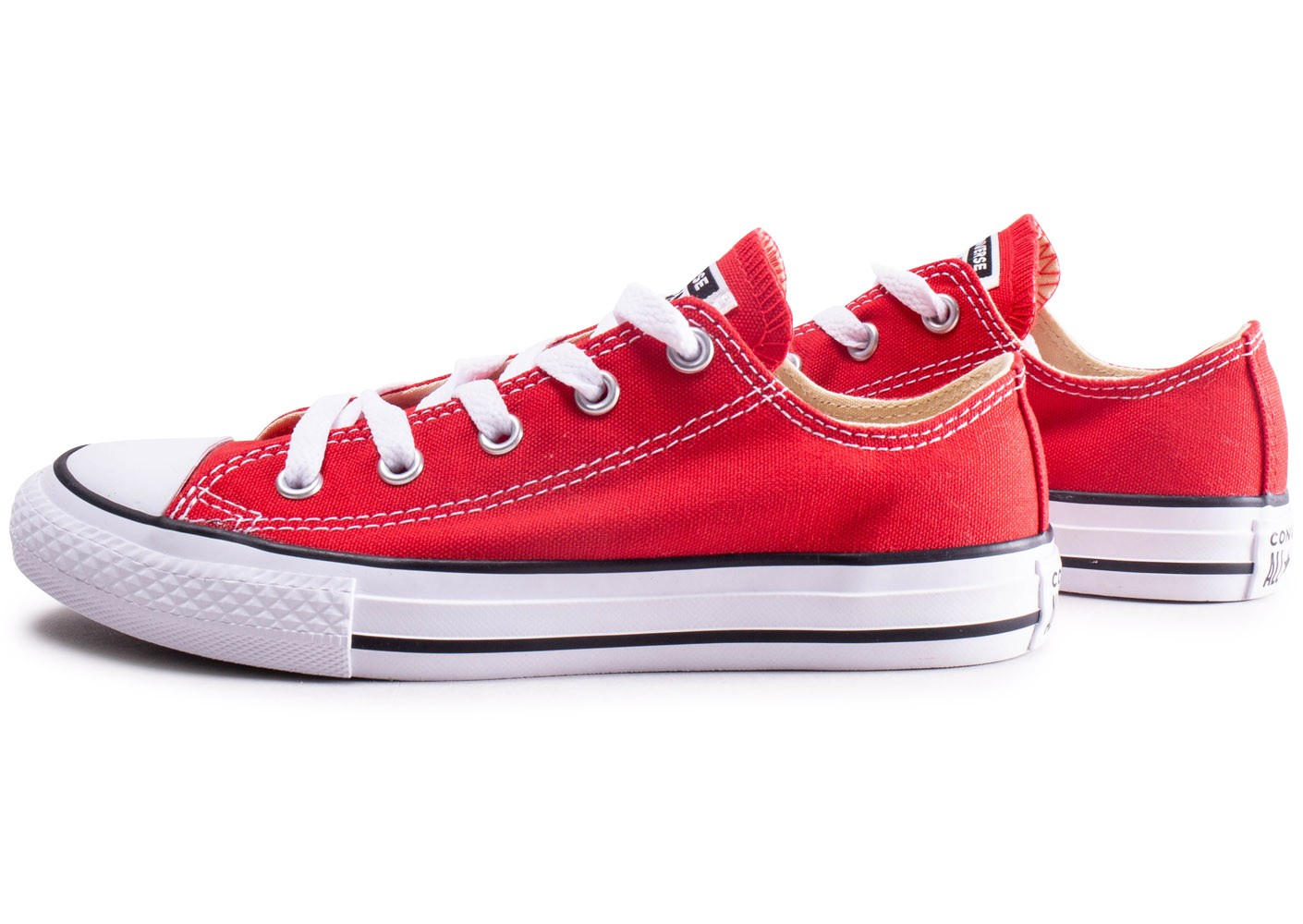 Converse Chuck Taylor All Star enfant basse rouge ...
