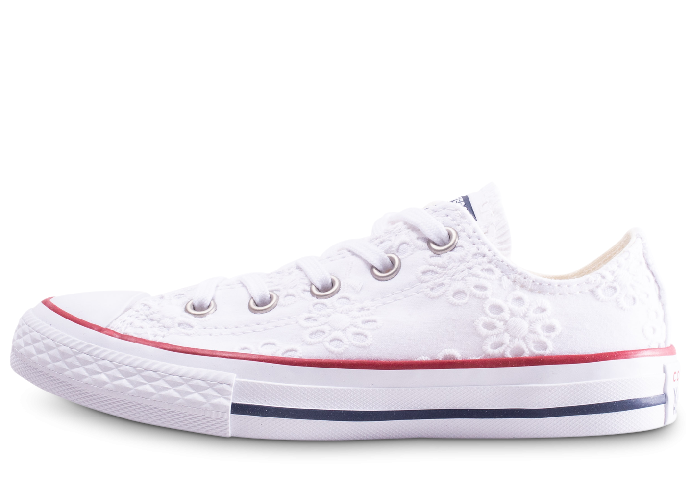 converse all star femme basse blanche