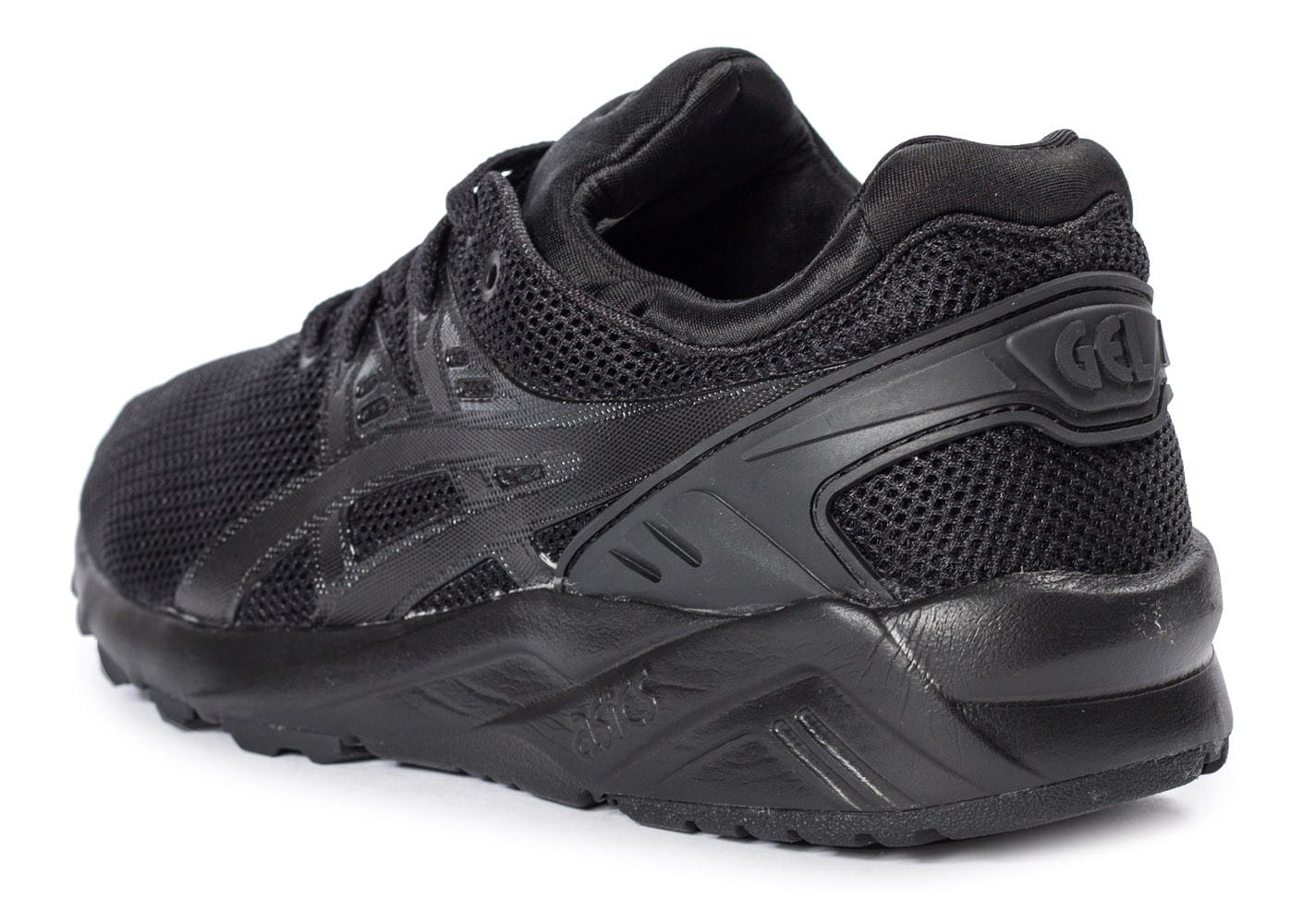 ... Chaussures Asics Gel Kayano Trainer Evo W triple black vue arrière ... cde58a7d8518