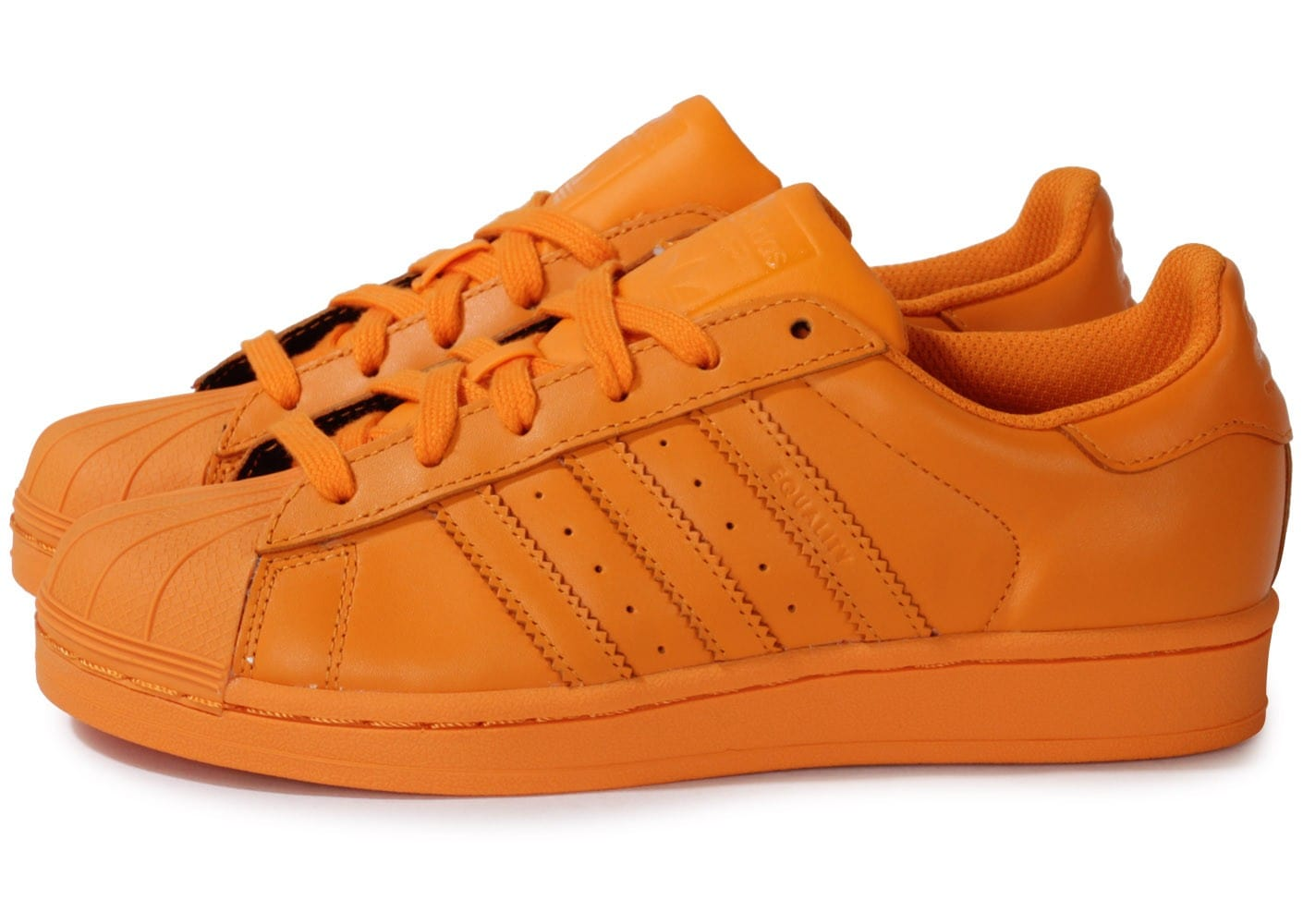 adidas Superstar Supercolor Orange - Chaussures