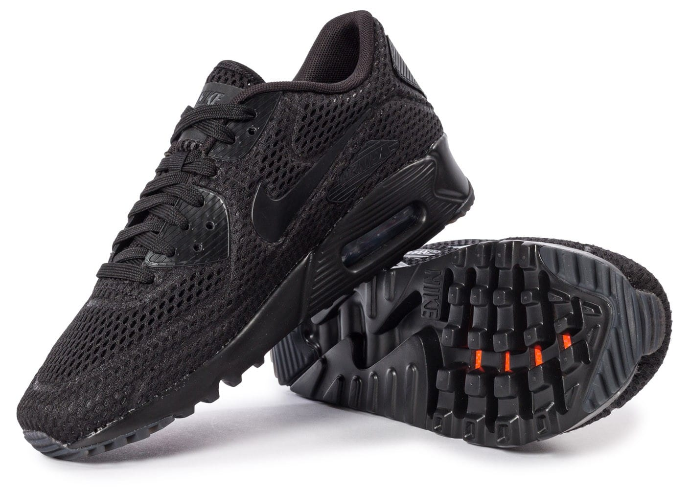 a6007241dae Nike Air Max 90 Ultra BR noire - Chaussures Baskets homme - Chausport