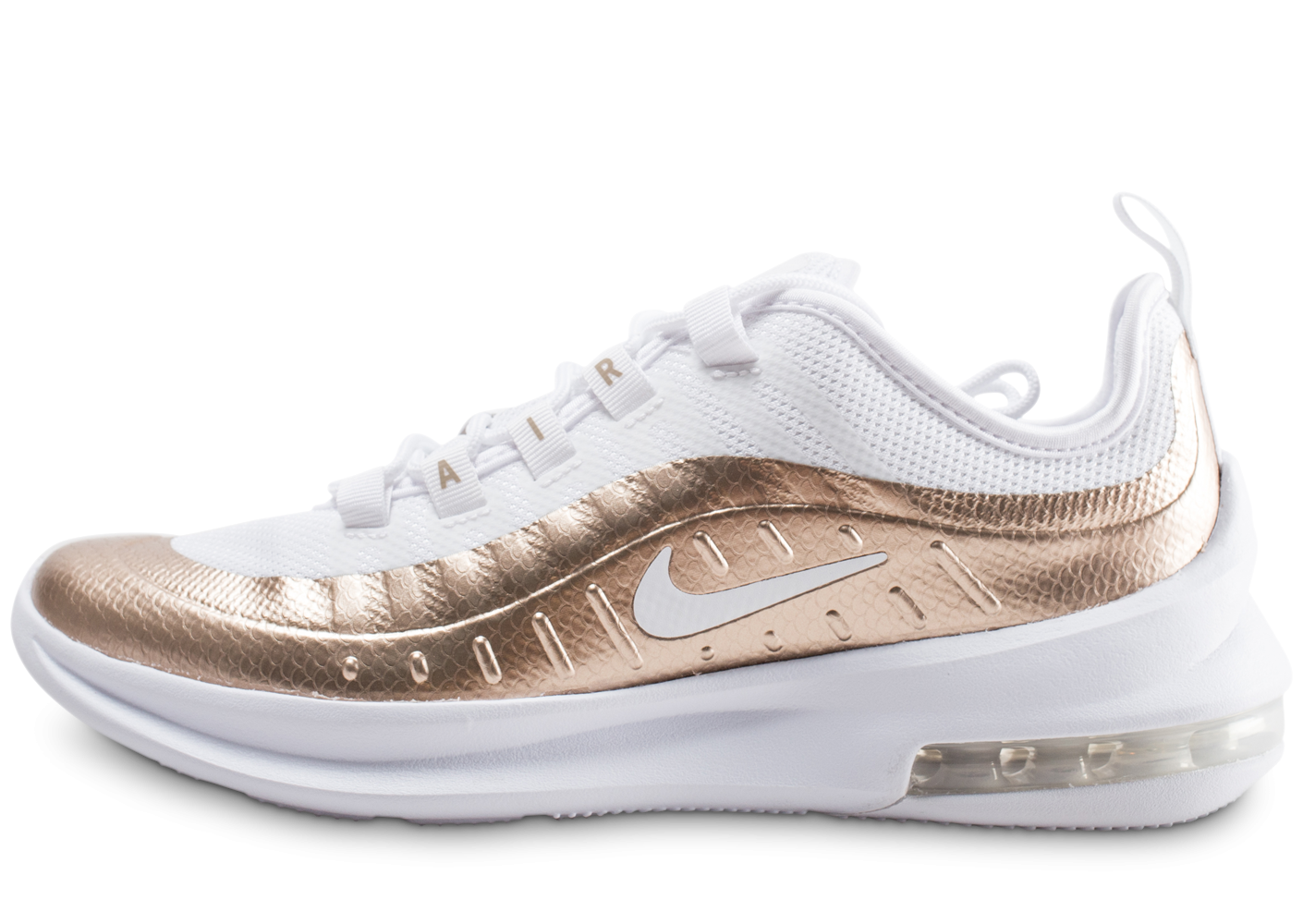 Nike Air Max Axis blanche et or junior