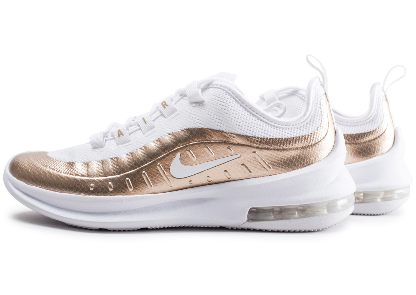 air max blanche et or femme