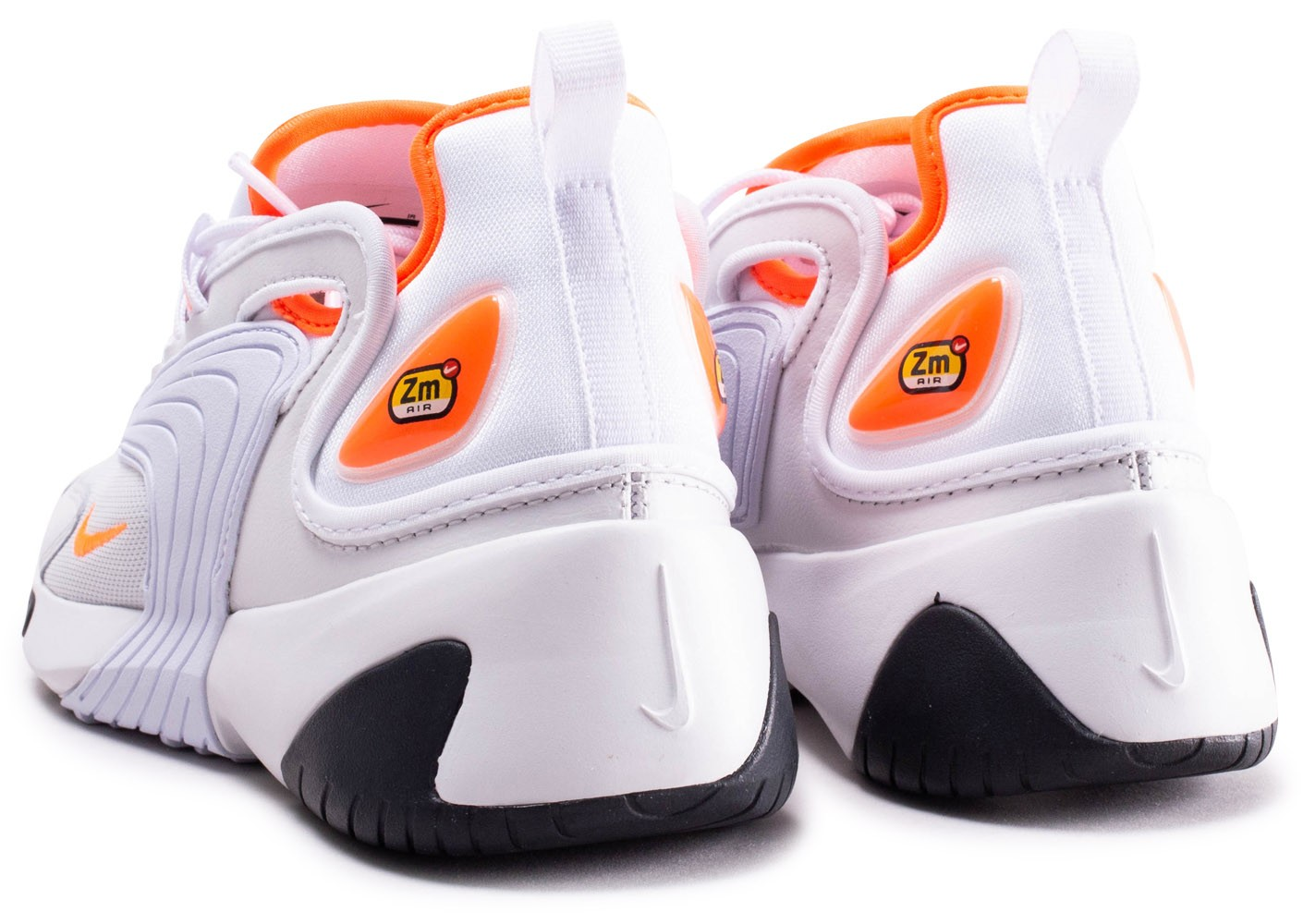 cheaper buy running shoes Nike Zoom 2K blanche et orange femme - Chaussures Baskets ...