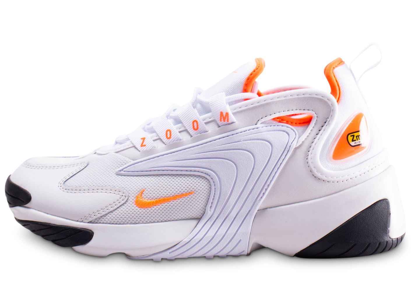 outlet boutique nice shoes clearance sale Nike Zoom 2K blanche et orange femme