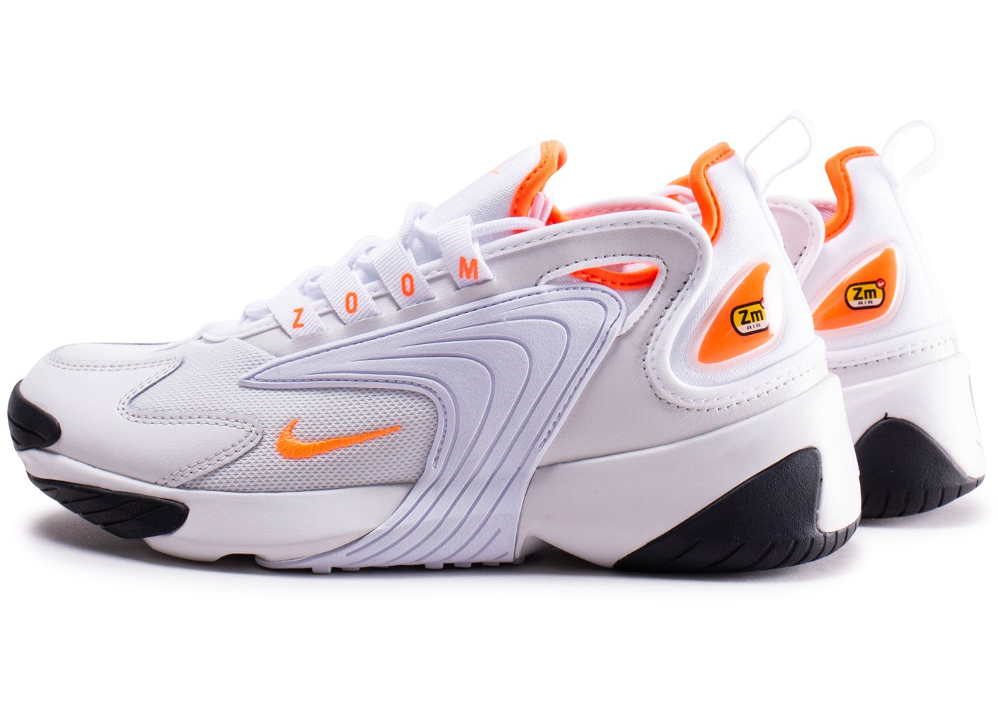 retail prices huge discount ever popular Nike Zoom 2K blanche et orange femme - Chaussures Baskets ...