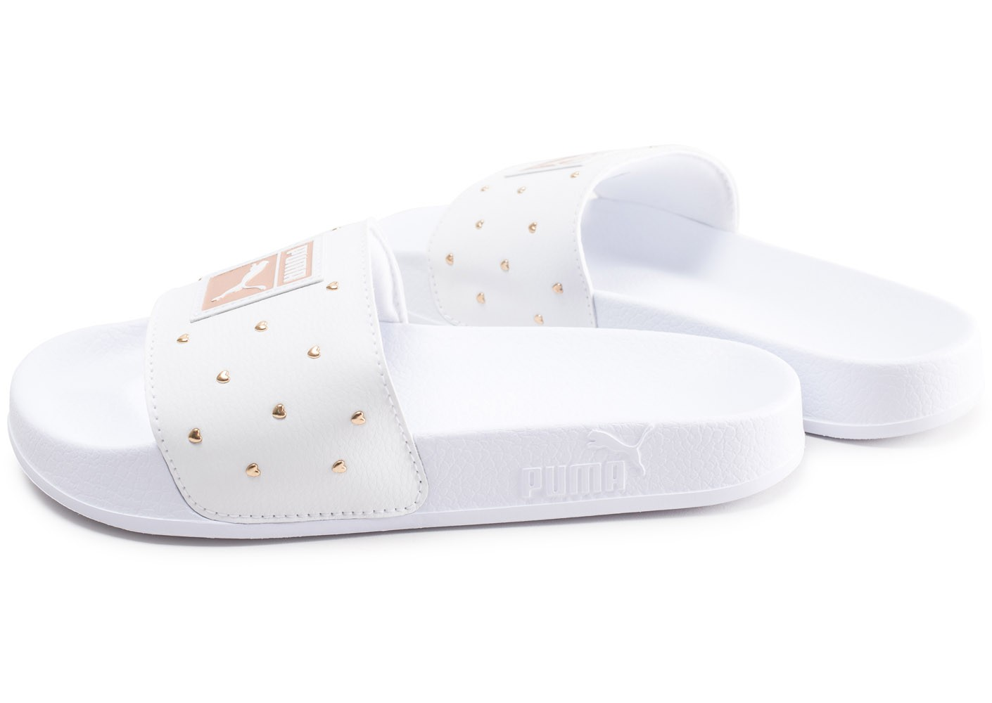 Studs Puma Leadcat Sandales Chaussures Femme Les 2weh9di Toutes Blanches 6gYbfvy7