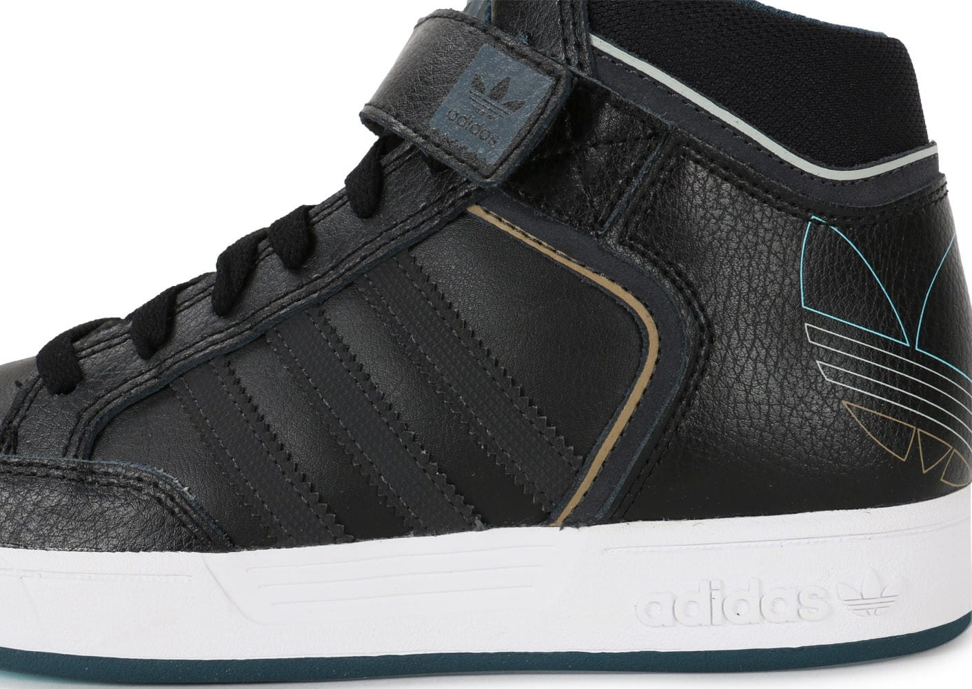adidas Varial Mid Junior noire Chaussures adidas Chausport