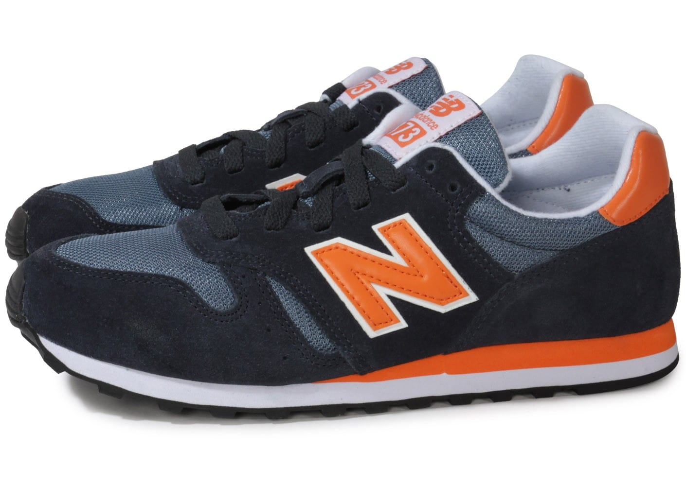 new balance bleu et orange