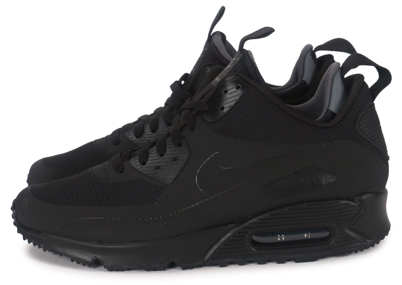 acheter populaire 07550 ed164 Nike Air Max 90 Mid Winter noir - Chaussures Baskets homme ...