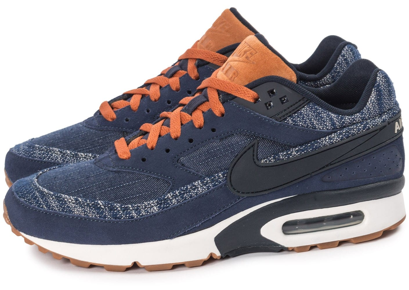 Nike Air Max BW Premium Denim Chaussures Baskets homme