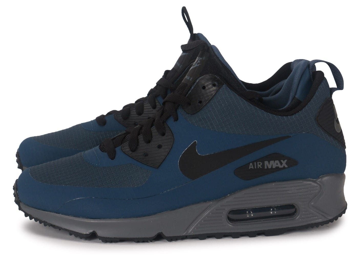 Baskets 90 Winter Mid Chausport Homme Bleu Chaussures Nike Max Air BdoWCrxe
