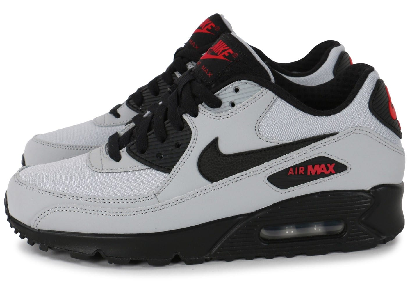 Nike Air Gris Max 90 Essential Wolf Gris Air Chaussures Baskets Homme 7ee5f1