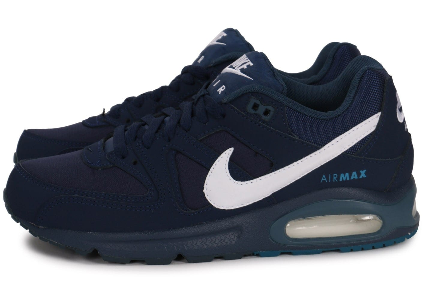 best service release date: check out Nike Air Max Command bleu marine et blanc - Chaussures ...