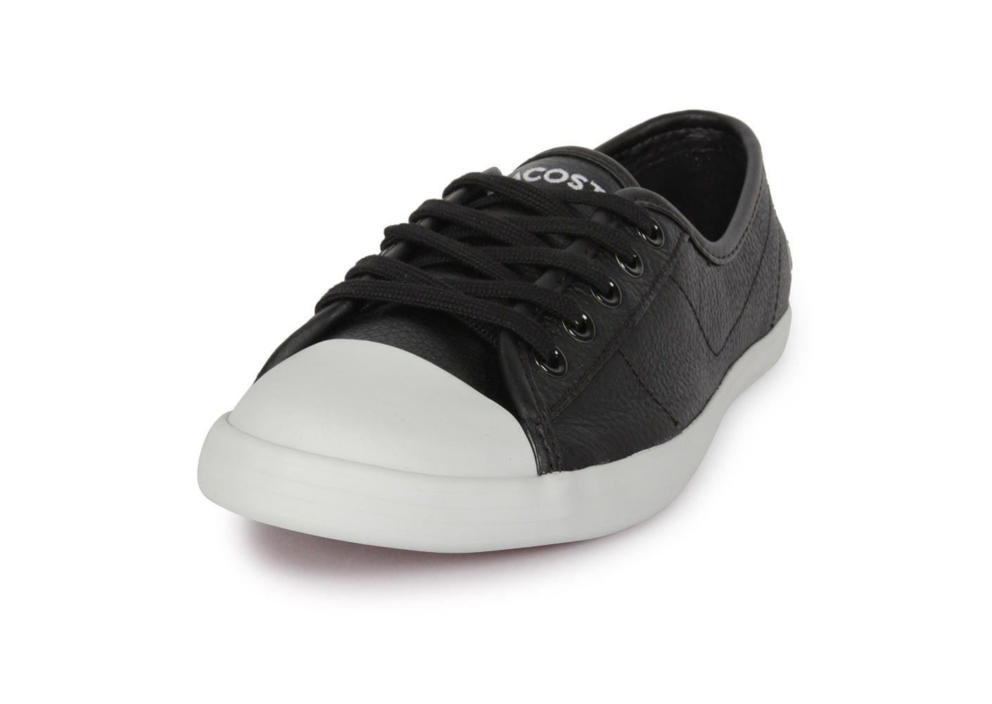 0c6a62598f2 Lacoste Ziane Lcr Noire - Chaussures Chaussures - Chausport