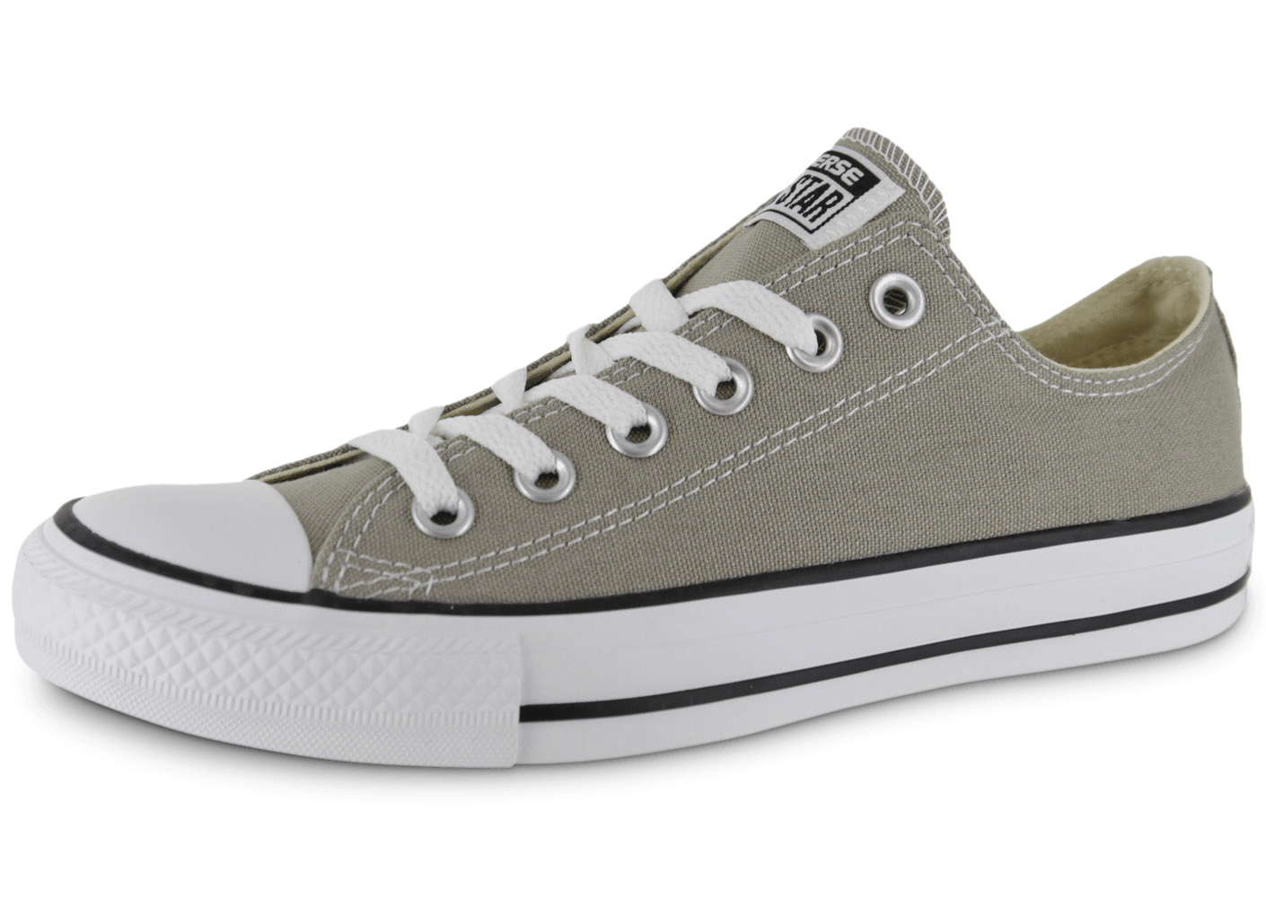 c34c22b06939a Converse Chuck Taylor All Star basse argent - Chaussures Chaussures -  Chausport