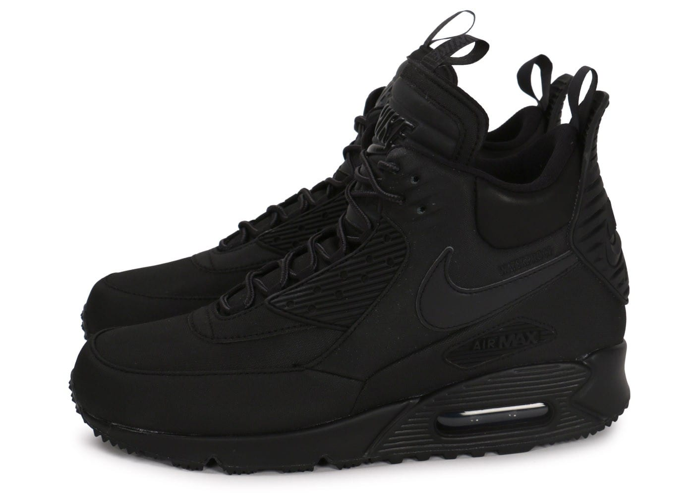 nike air max 90 sneakerboot winter black femme
