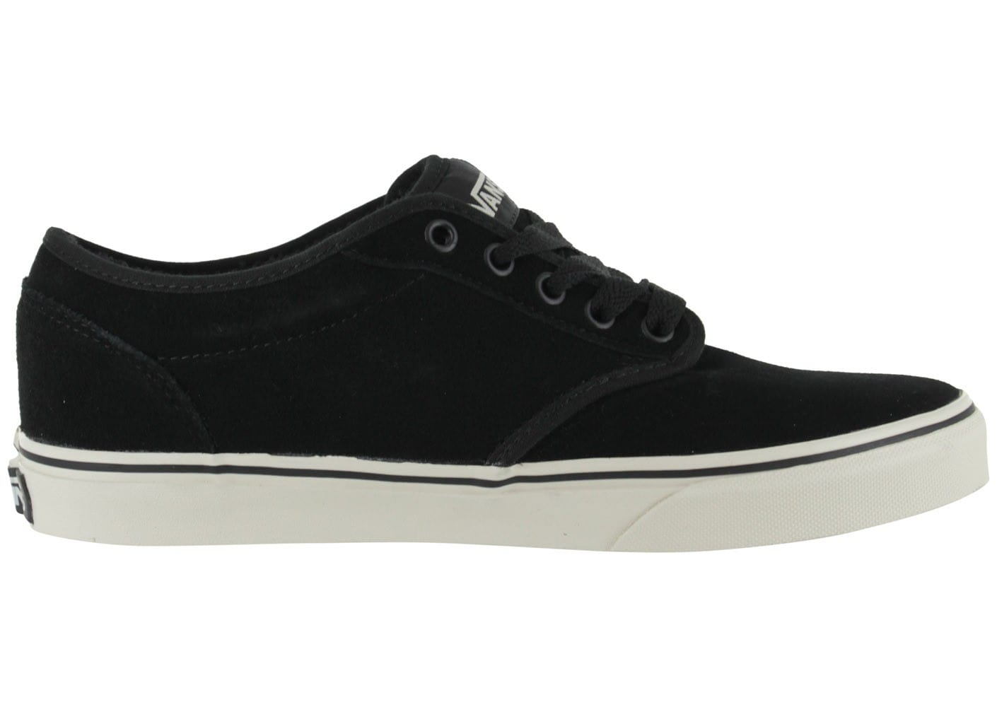 Chaussure Vans Atwood Noir-Noir Suede zN4Rb