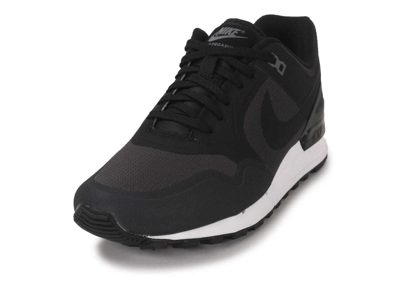 low priced dca77 e1ad0 ... Chaussures Nike Air Pegasus 89 No Sew grise vue avant ...