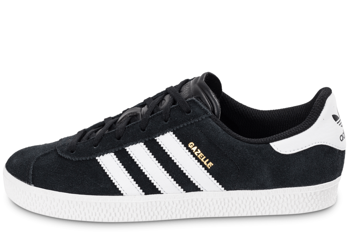 new product a7398 9a94b adidas Gazelle 2 Junior noire et blanche - Chaussures adidas