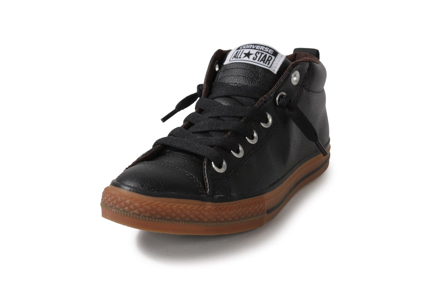 Converse Chuck Taylor All Star Junior Street Leather Mid