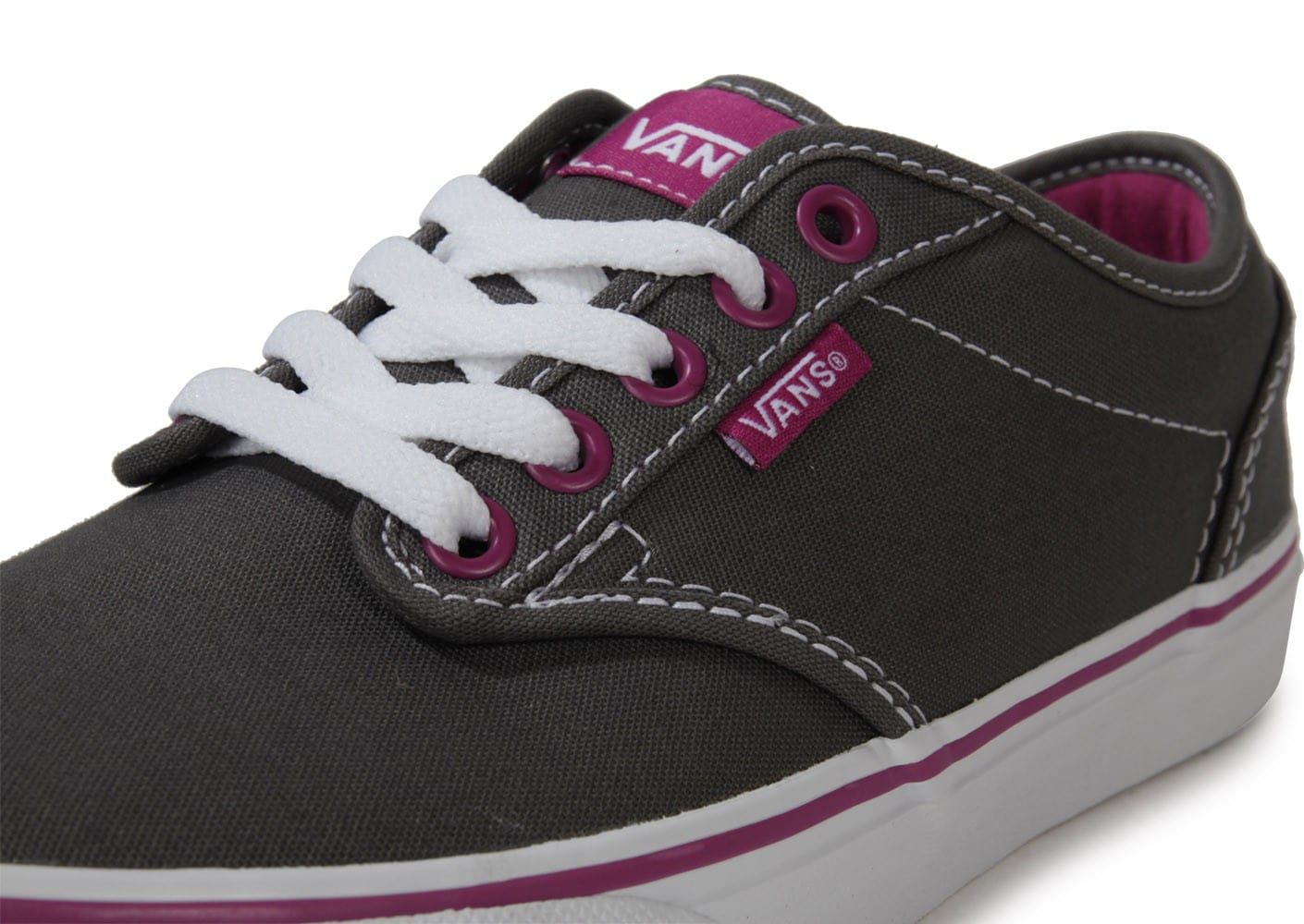 Vans Atwood Toile Grise Chaussures Chaussures Chausport