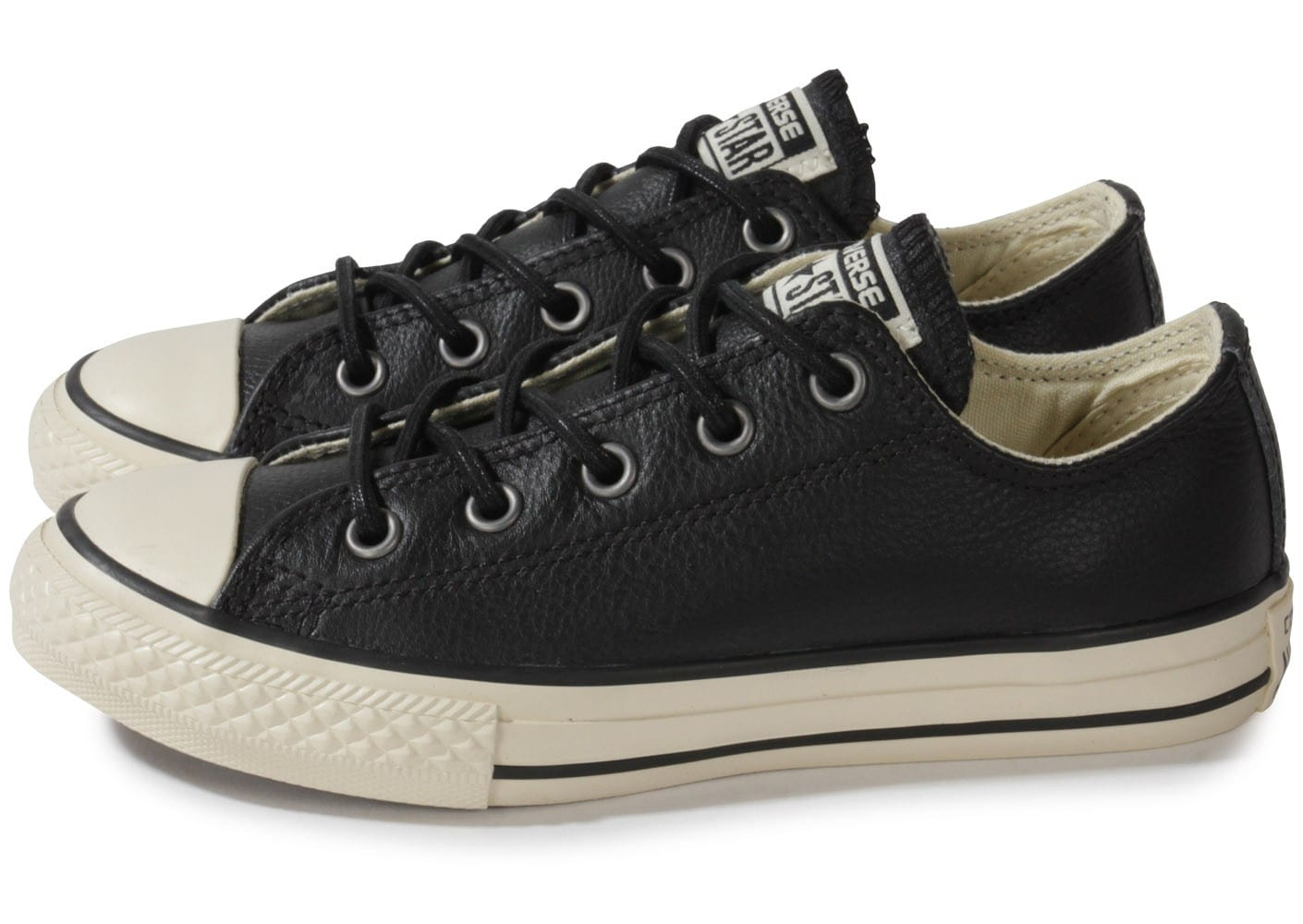 Converse Chuck Taylor All Star low noire Chausport