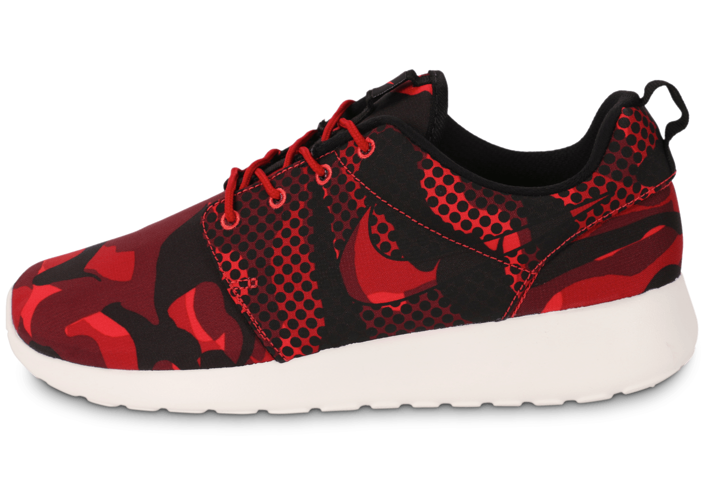 buy online 39fa5 db0ef Nike Roshe One Print Camo rouge - Chaussures Baskets homme - Chausport