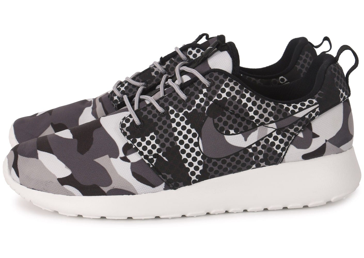 Nike One Roshe Print Camo Homme Chausport Grise Baskets Chaussures CrdexoB
