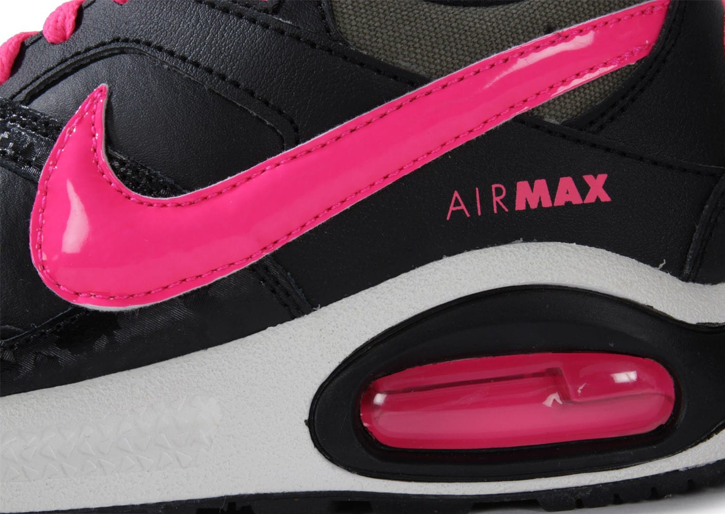 newest f71a5 ade42 Chaussures Chaussures Max Nike Command Rose Junior Air Noire Et 8BTxZB