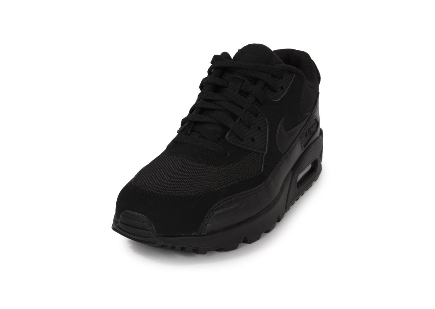 new style 57b0f dcb0b Nike Air Max 90 Noire - Chaussures Baskets homme - Chausport